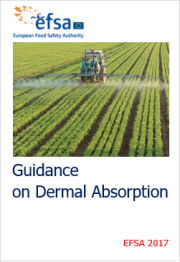 Guidance on dermal absorption EFSA 2017