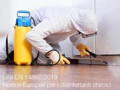 UNI EN 14885:2019 | Norme Europee per i disinfettanti chimici