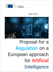 Proposal for a Regulation on a European approach for Artificial Intelligence
