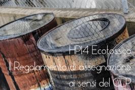 Regolamento (UE) 2017/997 HP14 Ecotossico