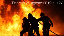 Decreto 21 agosto 2019 n. 127