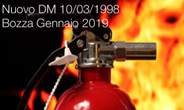 Nuovo DM 10/03/1998   Bozza Gennaio 2019