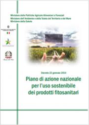 Piano di Azione Nazionale (PAN) uso sostenibile prodotti fitosanitari 2014