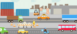 Guida elettronica UE sicurezza rischi da veicoli durante l'attività
