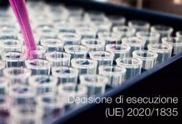 Decisione di esecuzione (UE) 2020/1835