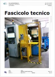 Modello di Fascicolo Tecnico e Manuale Istruzioni Uso e Manutenzione Affilatrice