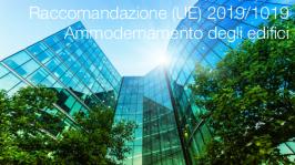 Raccomandazione (UE) 2019/1019 | Ammodernamento degli edifici