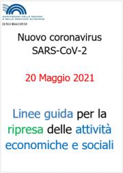 Linee guida Regioni e PA per la riapertura delle attività | 20.05.2021