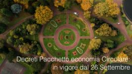 Decreti Pacchetto economia Circolare: in vigore dal 26 Settembre 2020