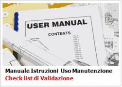 Manuale Istruzioni Uso Manutenzione: Check list di Validazione in 41 punti
