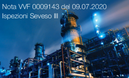 Nota VVF 0009143 del 09.07.2020 | Ispezioni Seveso III
