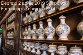 Decreto 2 aprile 2019   Suppl. 9.7 Farmacopea europea 9ª ed.