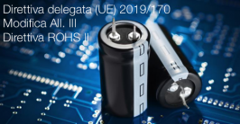 Direttiva delegata (UE) 2019/170 | Modifica All. III Direttiva ROHS II