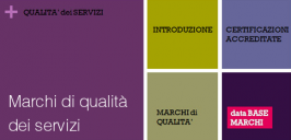 Marchi di qualità dei servizi
