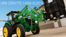 UNI CEN/TS 1459-8:2018 | Trattori agricoli a braccio telescopico