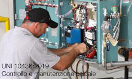 UNI 10436:2019 | Controllo e manutenzione caldaie