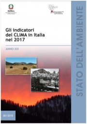 Gli indicatori del clima in Italia nel 2017