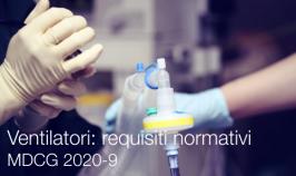 MDCG 2020-9 | Ventilatori MD: requisiti normativi