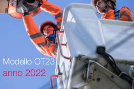 Modello Riduzione tasso medio prevenzione INAIL anno 2022 | OT23