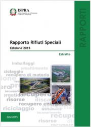 Rapporto Rifiuti Speciali - Edizione 2015