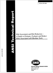 ANSI B11.TR3-2000 Risk Assessment and Risk Reduction - Machine Tools