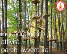Inquadramento dell'attività parco avventura