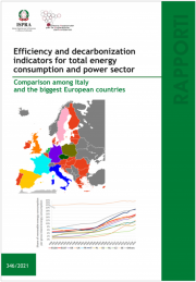 Efficiency and decarbonization indicators for total energy consumption and power sector