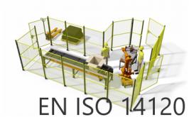 Ripari fissi e mobili di macchine: la nuova norma EN ISO 14120