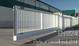 EN 13241 Porte e cancelli industriali: Non soddisfa i RESS della Direttiva macchine - Decisione (UE) 2015/1301