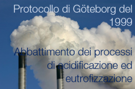 Protocollo di Göteborg del 1999 abbattimento dei processi di acidificazione ed eutrofizzazione