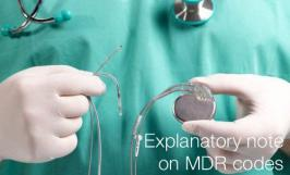 Explanatory note on MDR codes