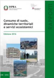 Consumo di suolo - ISPRA 2016