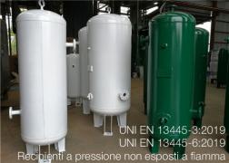 Recipienti a pressione non esposti a fiamma   Serie UNI EN 13445-X:2019