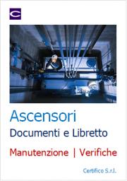 Libretto e documenti della manutenzione e verifiche ascensori