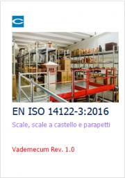 Progettazione scale, scale a castello e parapetti: EN ISO 14122-3