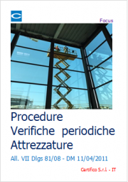 Procedure Verifiche periodiche Attrezzature