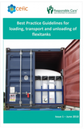 Best Practice Guidelines for loading, transport and unloading of flexitanks