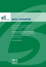 Convenzione di Basilea rifiuti pericolosi