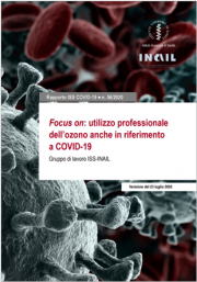 Utilizzo professionale dell'ozono anche in riferimento al COVID-19