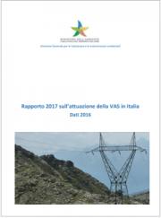 Rapporto 2017: attuazione della VAS