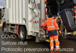 Protocollo per prevenzione e sicurezza dei lavoratori settore rifiuti