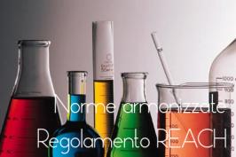Norme armonizzate REACH Gennaio 2016