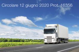 Circolare 12 giugno 2020 Prot. 16356