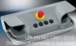UNI EN ISO 13851:2019 | Dispositivi di comando a due mani