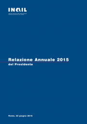 Relazione annuale Inail 2015
