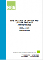 Fire Hazards of Oxygen and Oxygen enriched Atmospheres