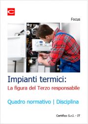 Impianti termici: la figura del Terzo responsabile
