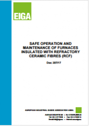 Safe Operation Furnaces Insulated with Refractory Ceramic Fibres