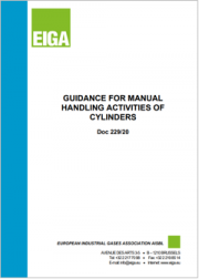 Guidance for manual handling activities of cylinders