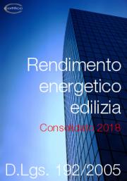 D.Lgs. 192/2005 Rendimento energetico edilizia | Consolidato 2018